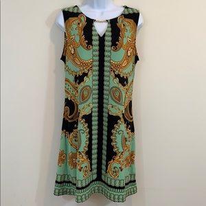 Haani Sleeveless Keyhole Dress   Size L